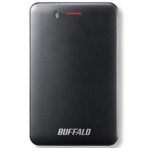 バッファロー USB3.1(Gen1) 小型ポータブルSSD 240GB ブラック SSD-PM24...