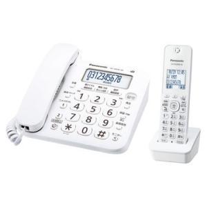 パナソニック コードレス電話機(子機1台)(ホワイト) VE-GD26DL-W