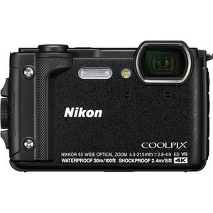Nikon デジタルカメラ COOLPIX W300 ブラック COOLPIXW300BK