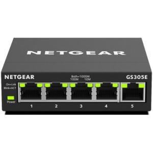 NETGEAR GS305E ギガ5P アンマネージプラススイッチ GS305E-100JPS