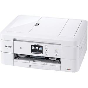 ブラザー工業 A4 IJ複合機/白/ADF/WLAN/手差/両面/レーベル DCP-J982N-W