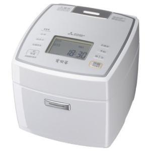 三菱電機 IHジャー炊飯器 備長炭 炭炊釜 ピュアホワイト NJ-VEA10-W