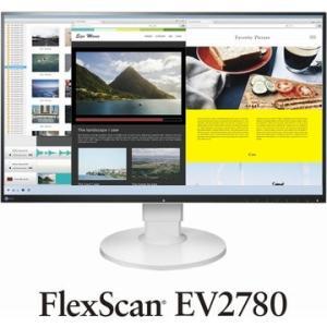 EIZO 27型カラー液晶モニター EV2780 ホワイト EV2780-WT
