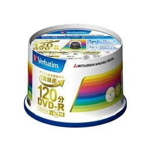Verbatim DVD-R 録画用120分 1-16x 50枚 IJ対応ホワイト VHR12JP5...