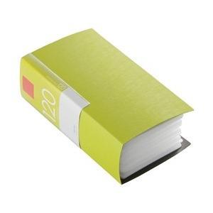バッファロー CD&DVDファイルケース ブックタイプ 120枚収納 グリーン BSCD01F120GR