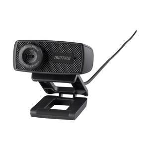 BUFFALO マイク内蔵120万画素Webカメラ HD720p対応 ブラック BSWHD06MBK