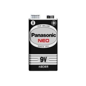 パナソニック マンガン乾電池 ネオ黒 9V形 1本シュリンクパック 6F22NB/1S|hikaritv