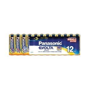 Panasonic エボルタ乾電池 単3形 12本パック LR6EJ/12SW