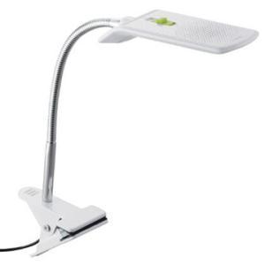 ツインバード LEDクリップライト (ホワイト) LE-H124W|hikaritv