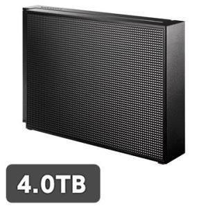 IODATA USB3.0/2.0対応 外付HDD 4TB ブラック EX-HD4CZ