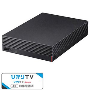 バッファロー USB3.1/USB3.0用 外付けHDD 4TB HD-NRLD4.0U3-BA