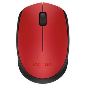 ロジクール ワイヤレスマウス レッド M171RD