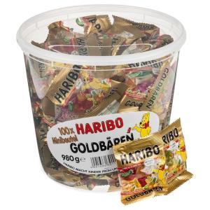 コストコ COSTCO ハリボー グミ ミニ ゴールド ベア 小分け グミ お菓子 個別包装 35袋