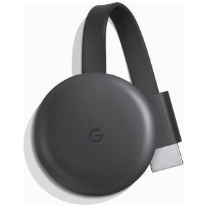 グーグル クロームキャスト 第3世代 チャコール Amazonプライム Youtube GA0043...
