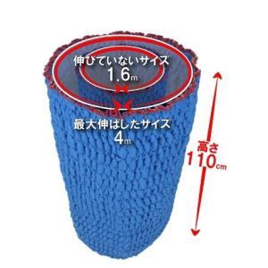 (引越し資材) ジャバラ(リバーシブル) 110M 1枚入り ゴム入りパッド ハイ ゴム入りパット|hikkoshishizai|02