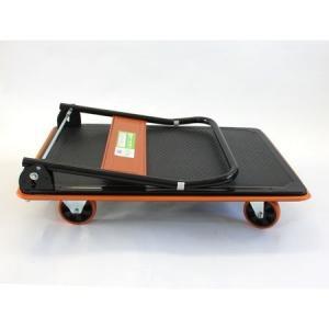 業務用台車 スチール製 折りたたみ 静音キャスター使用 300kg 1台|hikkoshishizai|04