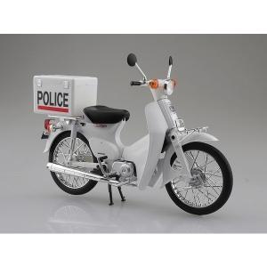 【アオシマ】 1/12 Honda スーパーカブ ポリス仕様 hiko7