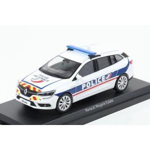 【NOREV】 1/43 Renault Megane Estate 2016 Police Nationale hiko7