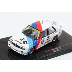 【ixo】 1/43 BMW E30 M3 1988 ETCC #52|hiko7