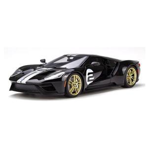 【GT スピリット】 1/18 フォード GT(ブラック/シルバーストライプ) 世界限定:750個|hiko7