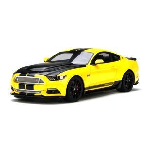 【GTスピリット】 1/18 フォード マスタング シェルビー GT (イエロー/ブラックストライプ)世界限定:750個 ※USA限定モデル|hiko7