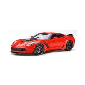 【GTスピリット】 1/18 シボレー コルベット Z06 (レッド) USエクスクルーシブモデル|hiko7