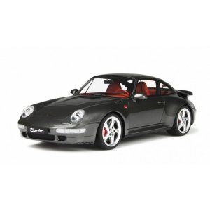 【GTスピリット】 1/18 ポルシェ 911 (993) ターボ メタリックグレー *限定1.000台|hiko7