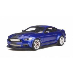 【GTスピリット】 1/18 フォード シェルビー GT350 ワイドボディ(ブルー)|hiko7
