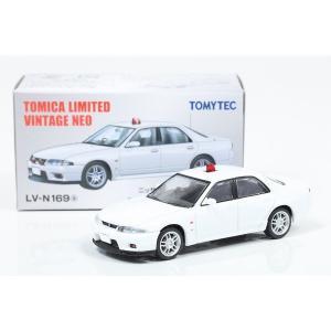 【トミカリミテッドヴィンテージNEO】 1/64 日産スカイライン GT-R オーテックバージョン 覆面パトカー 白 hiko7