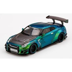 MINI GT 1/64 LB★WORKS Nissan GT-R R35 タイプ2 リアウイング ...