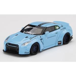 MINI GT 1/64 LB★WORKS Nissan GT-R R35 タイプ1 リアウイング ...