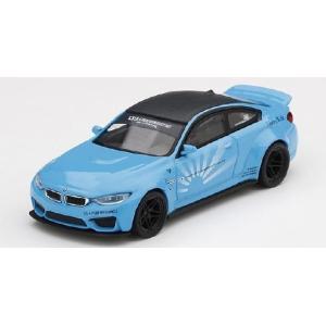 MINI GT 1/64 LB★WORKS BMW M4 ベイビーブルー(左ハンドル)
