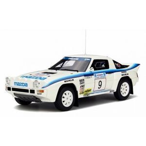 【OTTO】 1/18 マツダ RX-7 グループB Acropolis 1985 (ホワイト/ブルー) 世界限定:1500個|hiko7