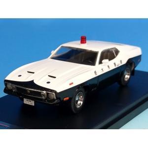[PremiumX] 1/43 Ford Mustang MACH 1 1973 Japan Police 栃木県警察|hiko7