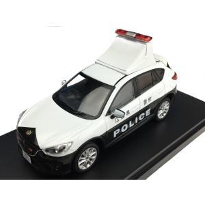 [PremiumX] 1/43 Mazda CX-5 Japanese Police with LED roof sign 2013 広島県警察|hiko7