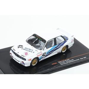 【ixo】 1/43 BMW E30 M3 No,42 Tourenwagen Weltmeisterschaft Dijon 1987|hiko7