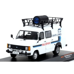 【ixo】 1/43 Ford Transit MkII 1979 Rally Assistance