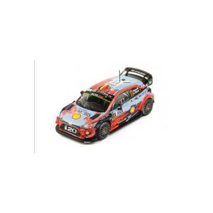 【ixo】 1/43 HYUNDAI Coupe i20 WRC # 11 T. Neuville-N.Gilsoul 1er Rallye Corse 2019|hiko7