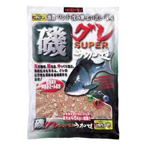 ヒロキュー集魚材 磯グレSUPERうかせ 1ケース12個入り  |hikoboshi-fishing