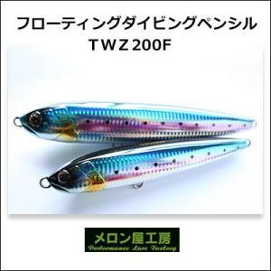 メロン屋工房 TWZ200F ダイビングペンシル  フローティング  Melon-ya-kobo TWZ200F  Diving Pencil|hikoboshi-fishing