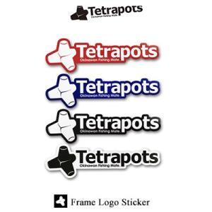 テトラポッツ フレームロゴステッカー TPG-037 Tetrapots  Frame Logo S...