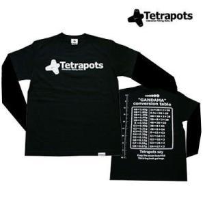 Tetrapots発足時からのド定番デザイン。 ガンダマTの愛称でのロングランアイテムですの長袖です...