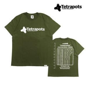 テトラポッツ ガンダマ T カーキTPT001 Tシャツ 半袖モンゴル800 モンパチ (テトラポッ...