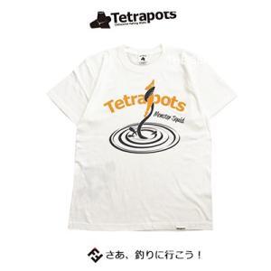 テトラポッツ スクイッドTEE BWH バニラホワイトTPT040 Tシャツ 半袖 Tetrapot...