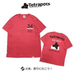 テトラポッツ COドライTEE TPT039フラミンゴピンク Tシャツ 半袖 Tetrapots C...