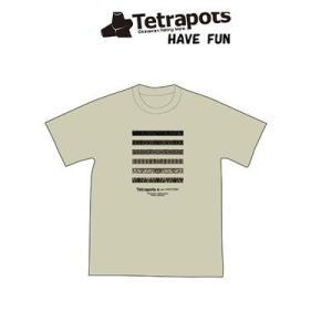 テトラポッツ Tシャツ ハブファン TPT044カラー:サンドカーキ 半袖Tetrapots HAV...