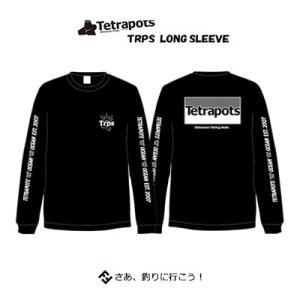 テトラポッツ トリプス ロングスリーブ TPT-045ブラック Tシャツ 長袖 Tetrapots ...