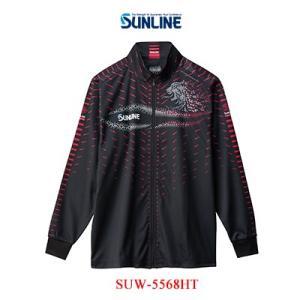 左胸部に内ポケット搭載。 着心地良く、暖かさも抜群の秋冬の釣りを快適にサポートするジップアップシャツ...