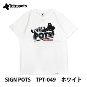 テトラポッツのおしゃれなサインロゴ入りTシャツです。  言わずと知れた、モンパチことモンゴル800の...
