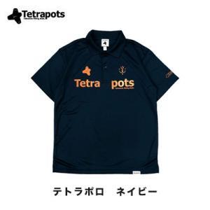 テトラポッツ テトラポロ ネイビー ポロシャツTPP-005 S〜XL モンゴル800 (テトラポッ...